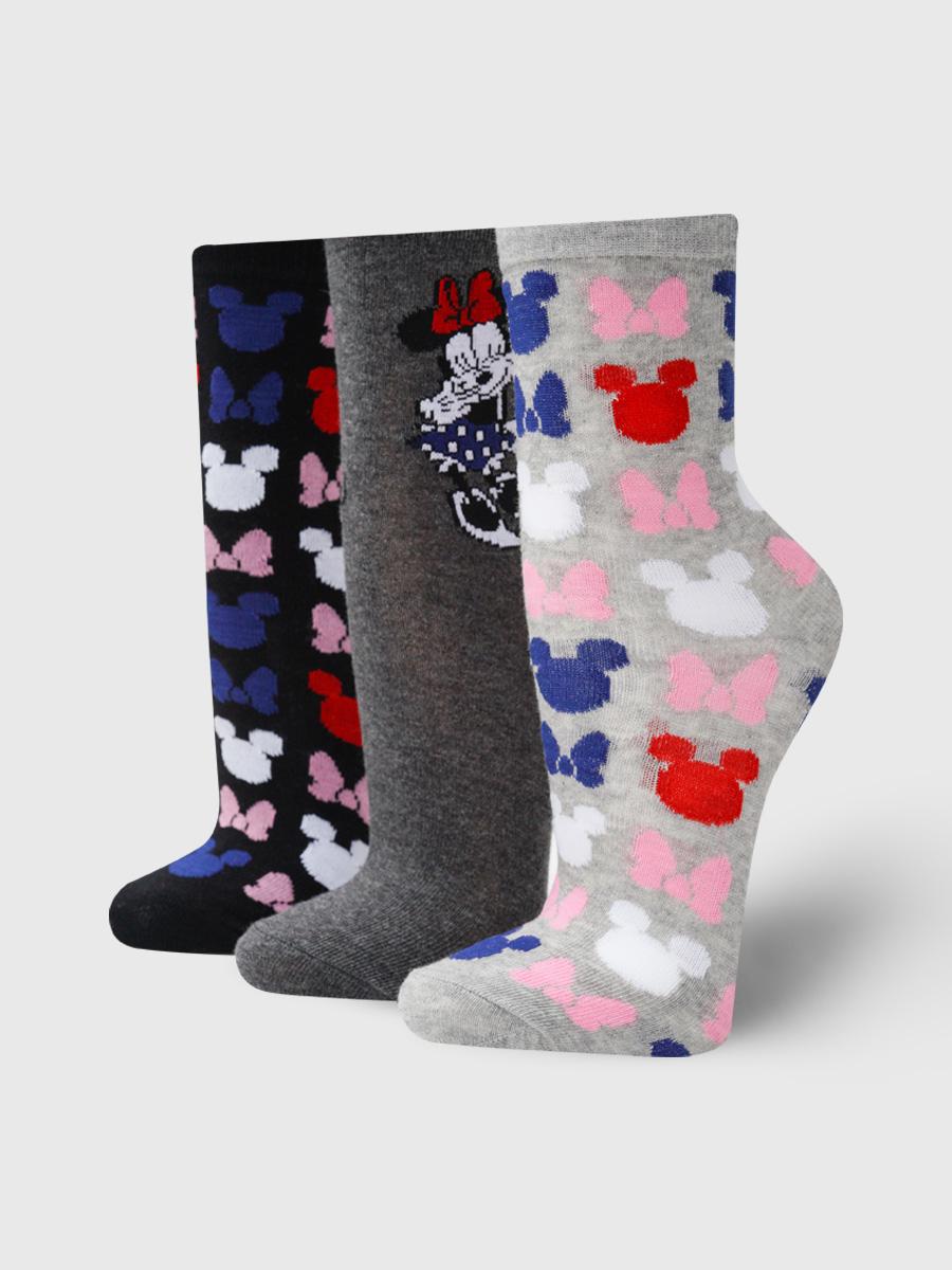 Набор носков женских ТВОЕ A7159 разноцветных ONE SIZE