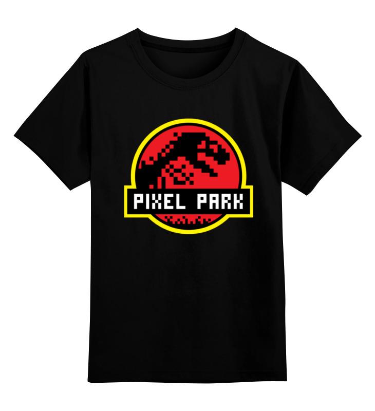 Детская футболка Printio Парк юрского периода цв.черный р.104 0000001431648 по цене 990