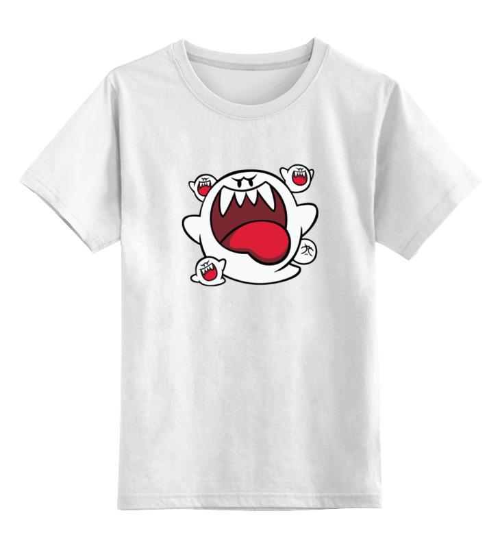 Детская футболка Printio Буу привидения цв.белый р.104 0000001289695 по цене 790
