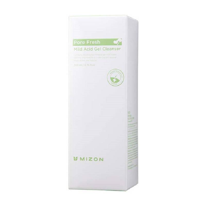 Купить Гель для умывания лица Mizon с розмарином Pore Fresh Mild Acid Gel Cleanser 200 мл