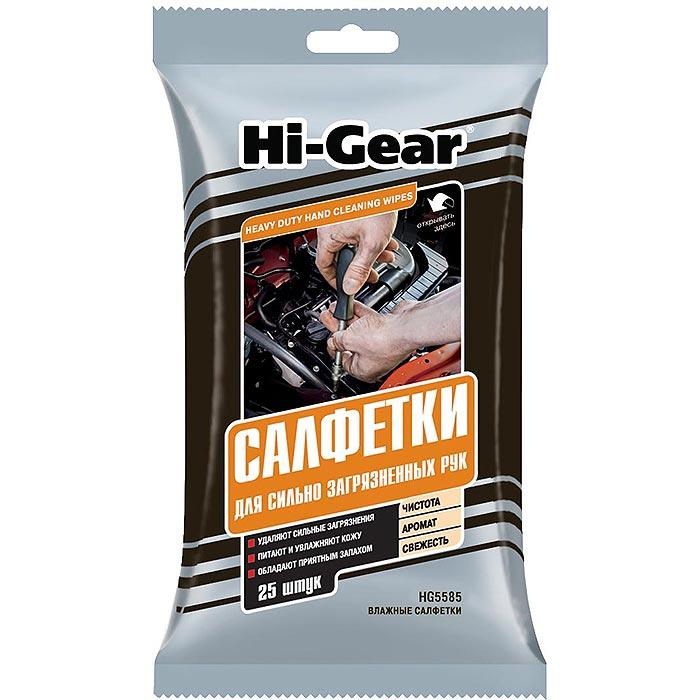 Салфетки для рук Hi Gear 25шт HG5585 фото