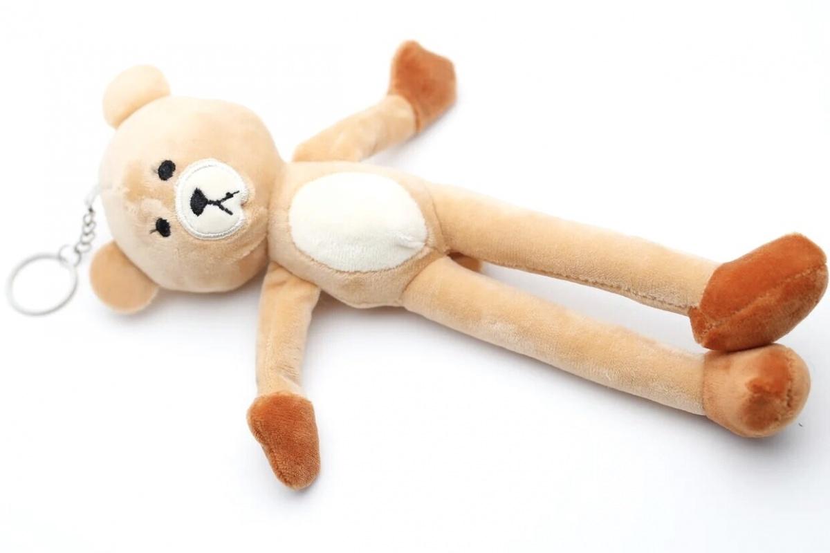Мягкая игрушка-брелок Медвежонок CoolToys BD230LIGHTBROWN