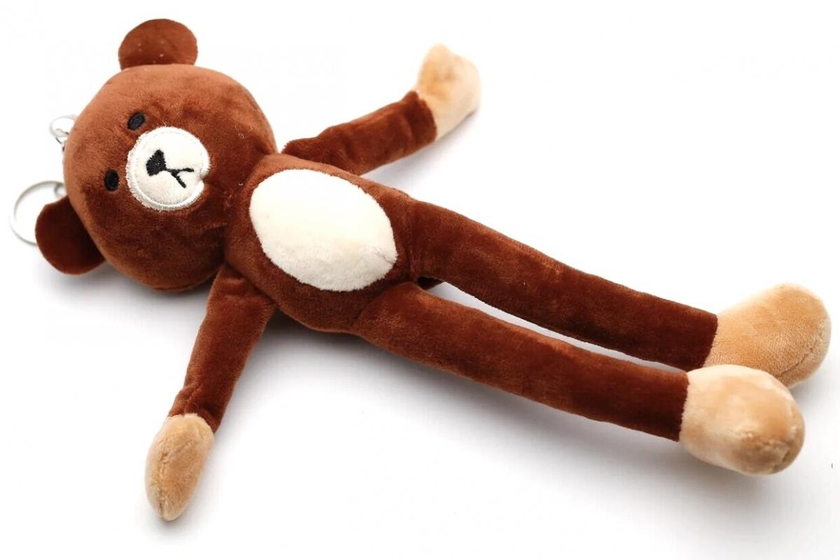 Мягкая игрушка-брелок Медвежонок CoolToys D230BROWN