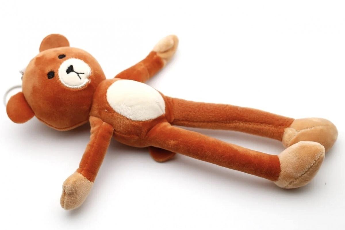 Мягкая игрушка-брелок Медвежонок CoolToys BD230BEIGE