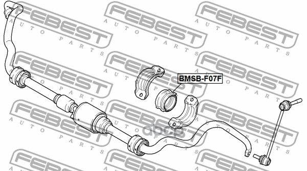 Втулка стабилизатора Febest BMSBF07F
