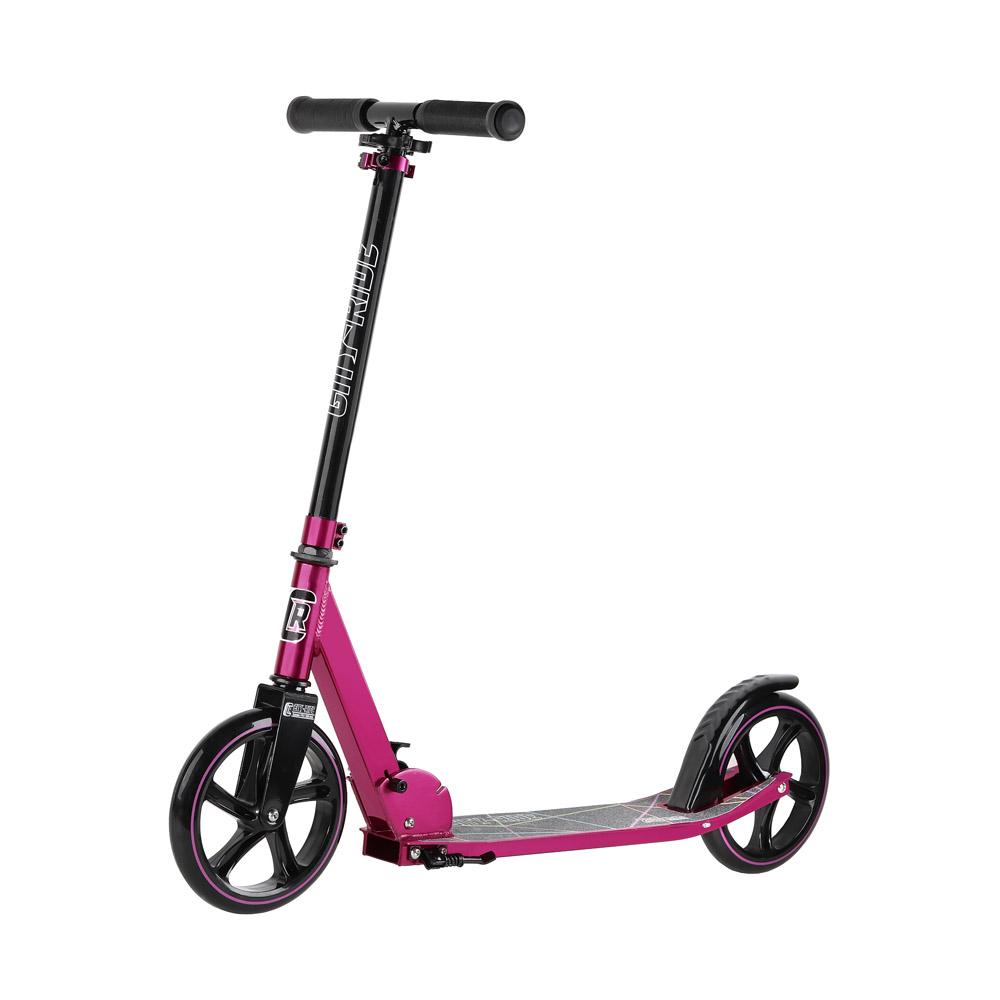 Купить Двухколесный самокат City-Ride CR-S2-01PK Розовый, Самокаты детские двухколесные