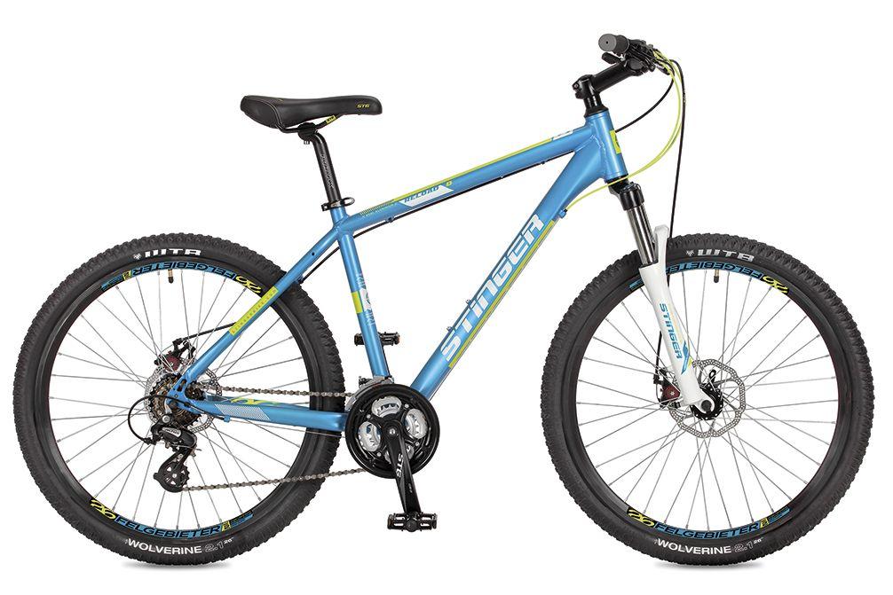 Велосипед Stinger Reload 26 (2017) 16 синий (26AHD.RELOADD.16BL7)