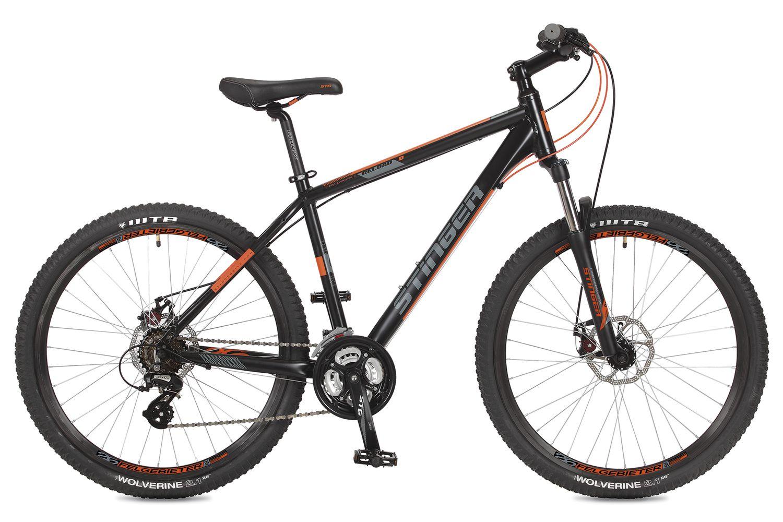 Велосипед Stinger Reload 26 (2017) 18 черный (26AHD.RELOADD.18BK7)
