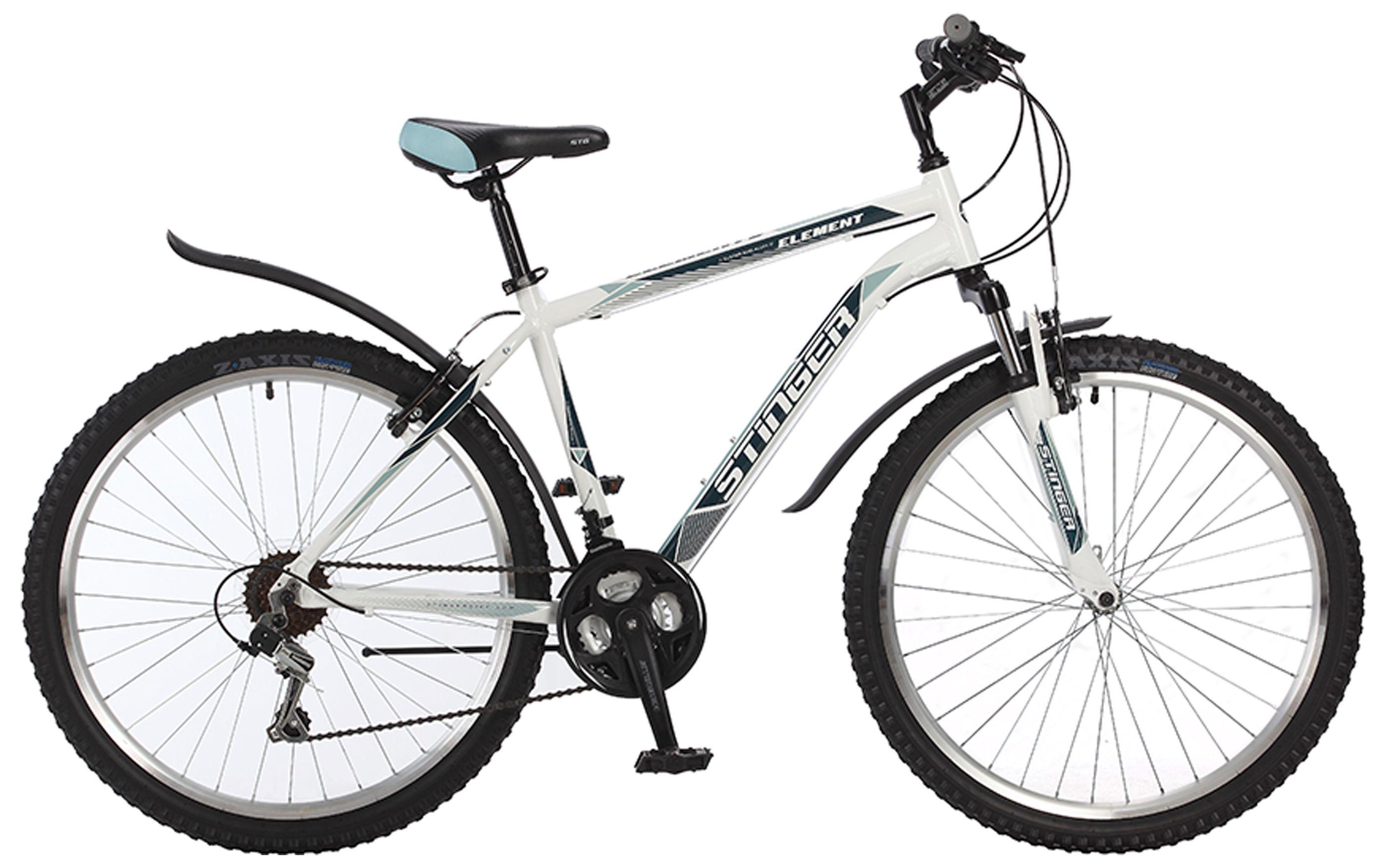 Велосипед Stinger Element 26 (2017) 18 белый (26AHV.ELEM.18WH7)