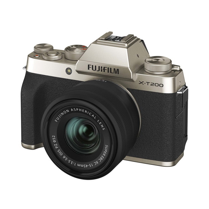 Фотоаппарат системный Fujifilm FX-T200G/1545KIT-RU IH Gold X-T200 15-45 Gold
