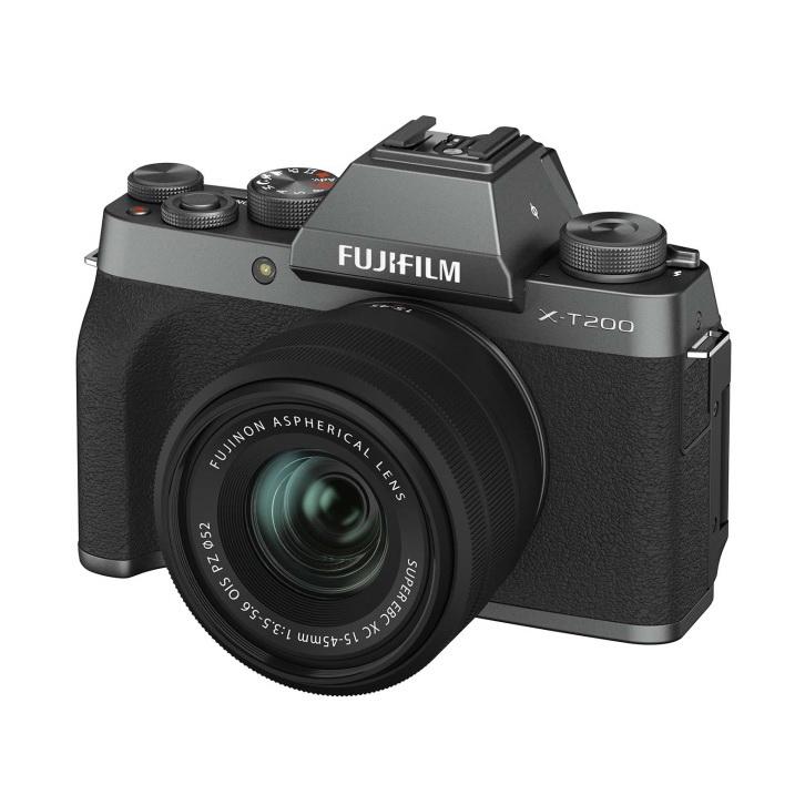 Фотоаппарат системный Fujifilm FX-T200DS/1545KIT-RU IH Dark Silver X-T200 15-45 Dark Silver