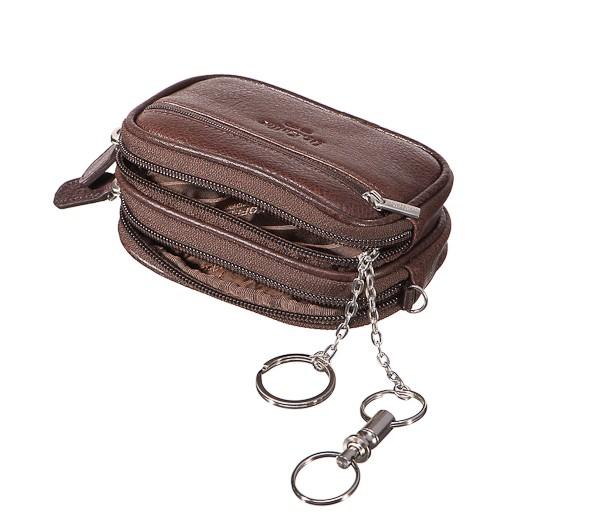 Ключница мужская Dr.Koffer X510182-02-09 коричневая