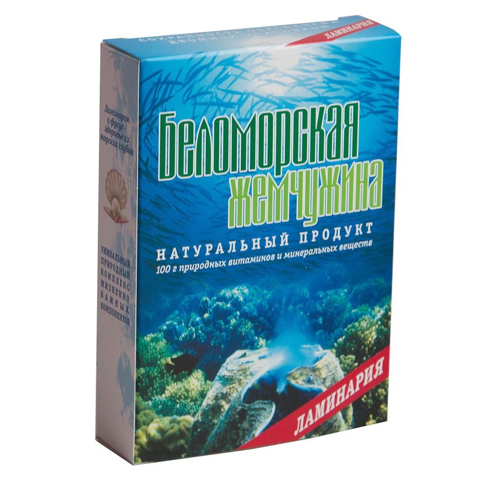 Ламинария морская капуста Беломорская жемчужина 100 г