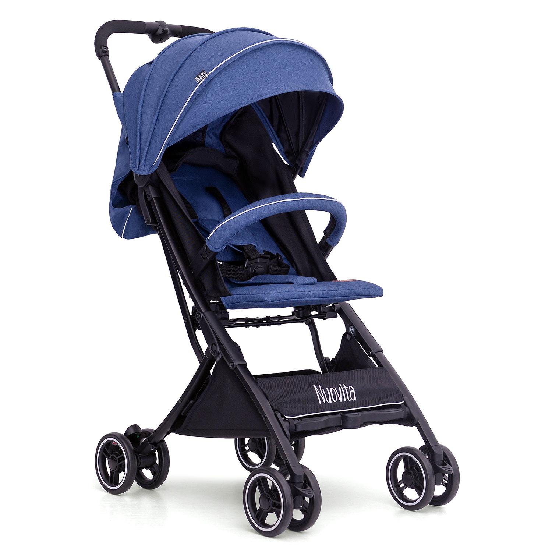 Купить Прогулочная коляска Nuovita Vero Blu Голубой,