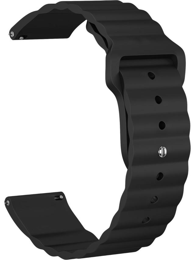 Ремешок GSMIN Dump 20 для Samsung Gear Sport/S2 Classic/Galaxy Watch (42 mm) Black Samsung Gear Sport / S2 Classic / Galaxy Watch (42 mm)