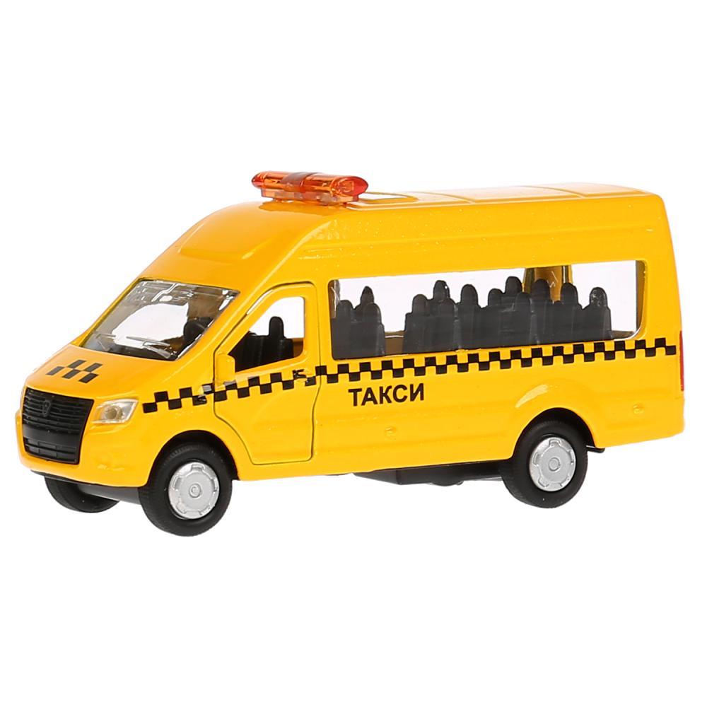 Машина инерционная металлическая Технопарк ГАЗ Газель Next Такси, 12 см