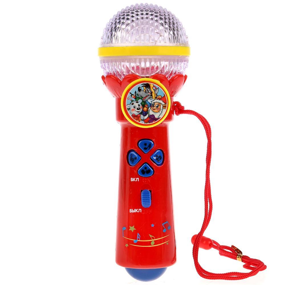 Микрофон Умка с 20 песенками про Новый Год,  - купить со скидкой