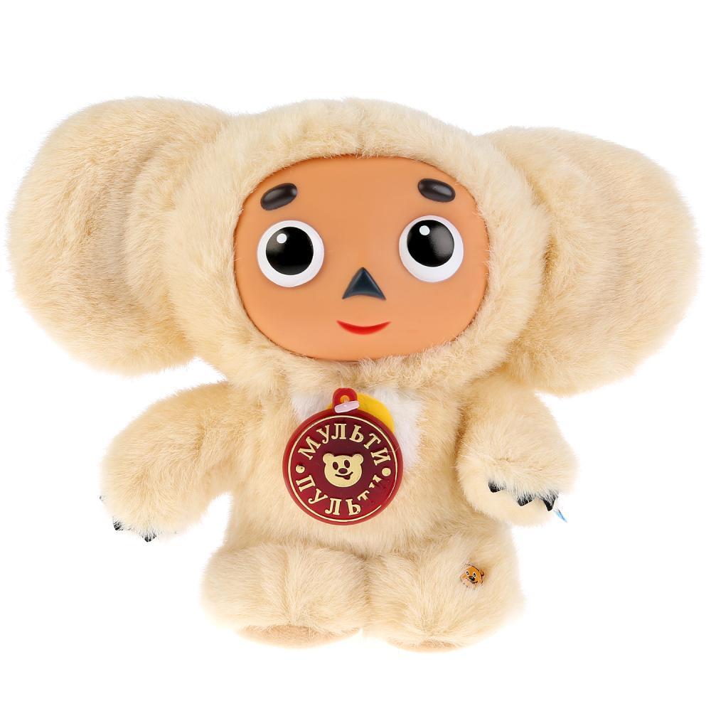 Купить Мягкая игрушка озвученная Мульти-Пульти Чебурашка бежевый, 17 см,