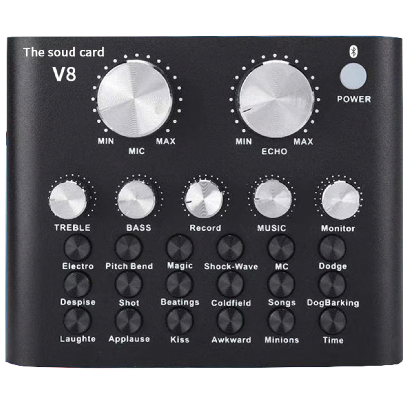 Звуковая карта Box69 Bluetooth Live V8