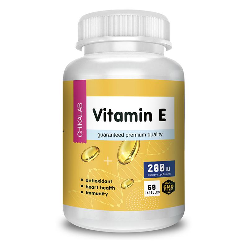 Купить Витамин Е CHIKALAB Vitamin Е капсулы 60 шт.