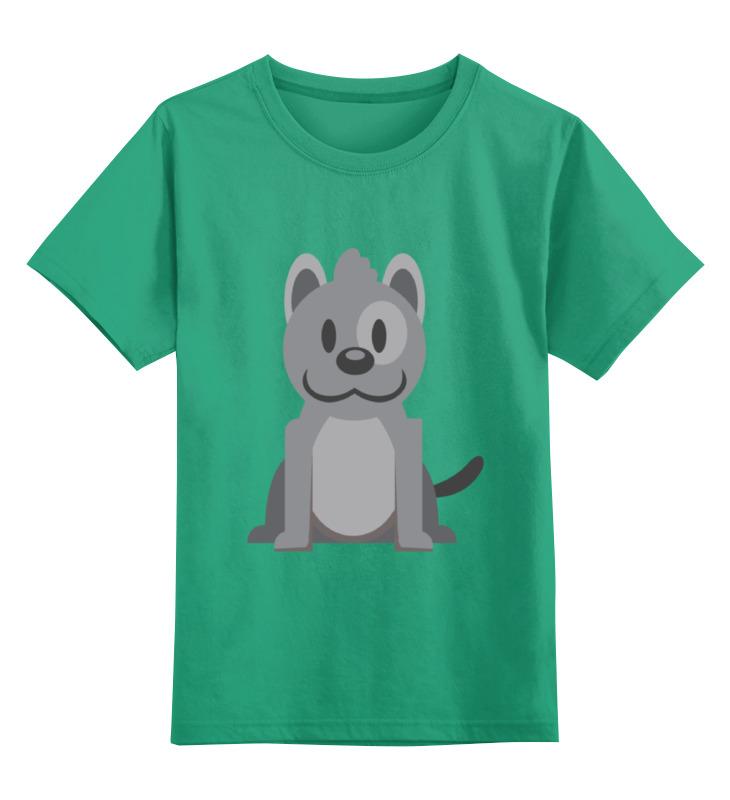 Детская футболка Printio Песик цв.зеленый р.128 0000002128851 по цене 990
