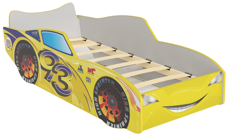 Купить Детская кровать Red River Топ Спит желтый,
