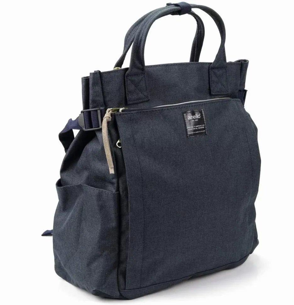 Сумка-рюкзак женская Anello АТ-С1225 серая Anello   фото