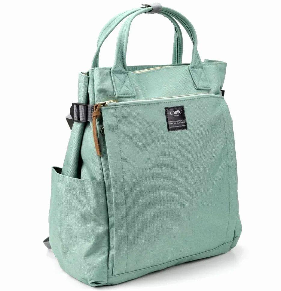 Сумка-рюкзак женская Anello АТ-С1225 зеленая Anello   фото