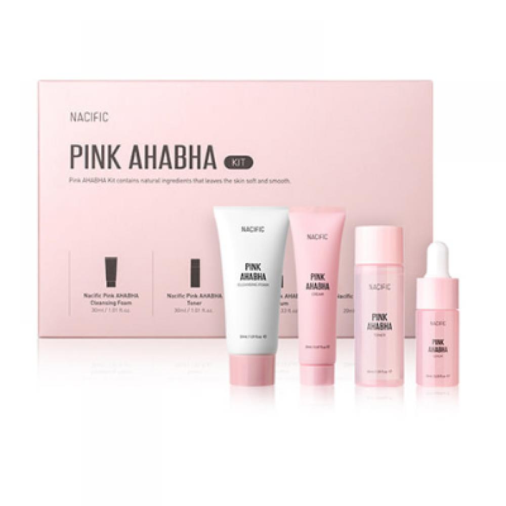 Купить Nacific Набор отшелушивающих средств с кислотами Pink AHA/BHA Kit, Nacific Pink AHABHA Kit, 1шт.