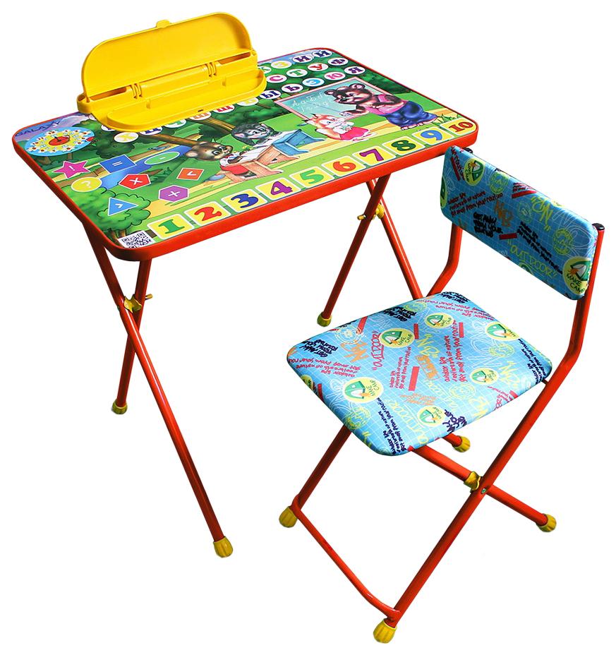 Комплект детской мебели Galaxy Лесная школа оранжевый