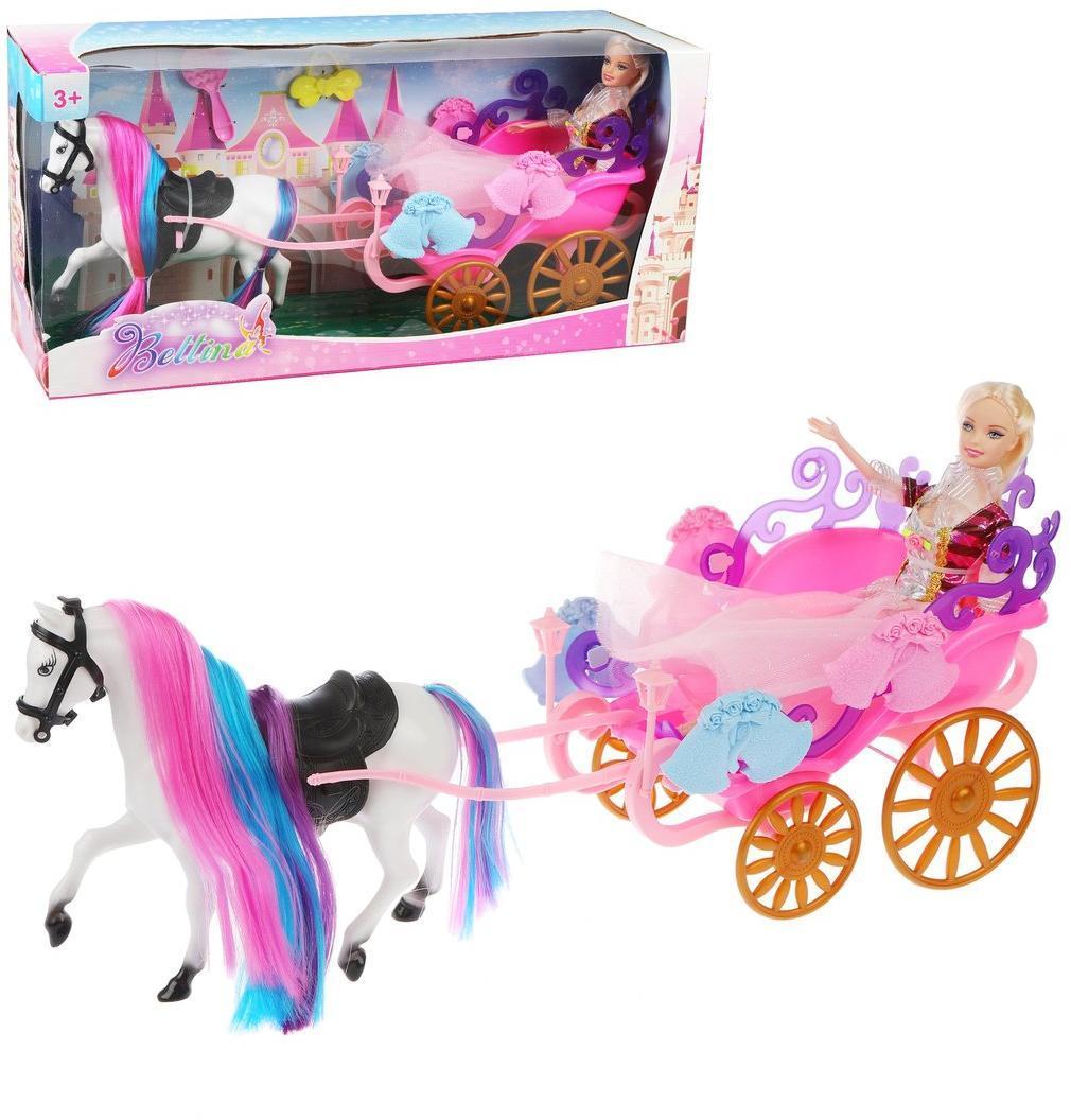 Транспорт для кукол Наша Игрушка Экипаж
