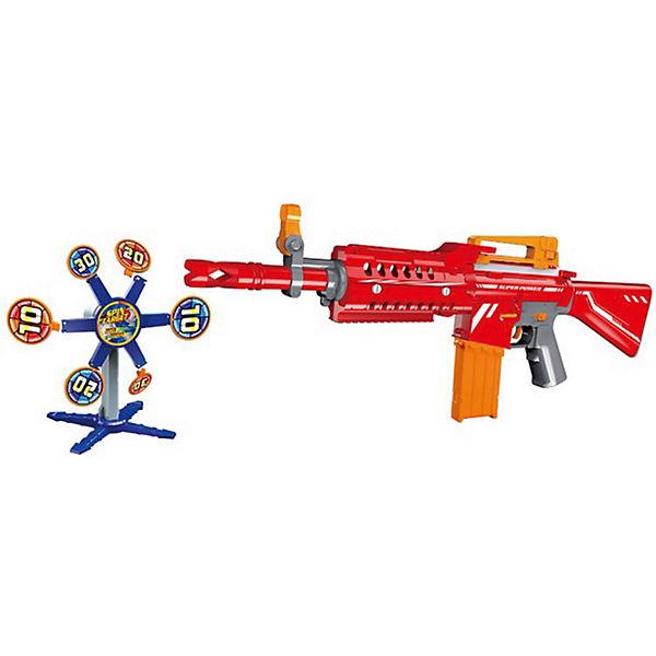 Оружие Junfa toys Автомат стреляющий мягкими снарядами,