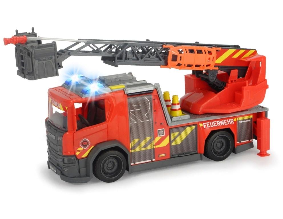Машина пожарная Dickie Toys Scania, 35 см