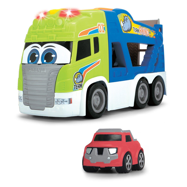 Набор Dickie Toys Транспортер, машинка и платформа