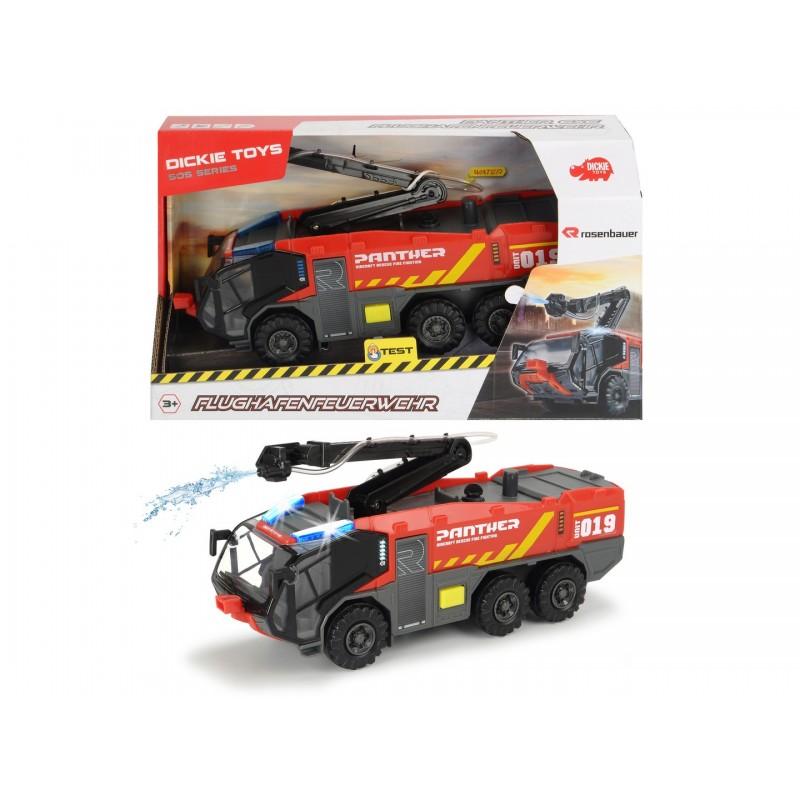 Машинка Dickie Toys Противопожарная служба аэропорта,