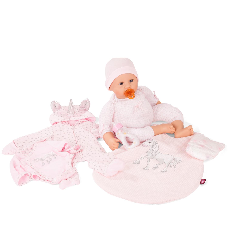Кукла Gotz Куки Пупс в розовом боди, 48 см