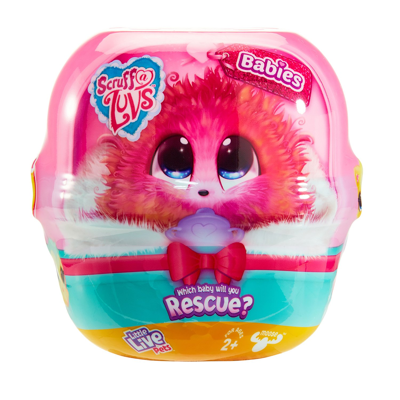 Набор игровой Babies Scruff-a-Luvs Пушистик-потеряшка разноцветный 30068