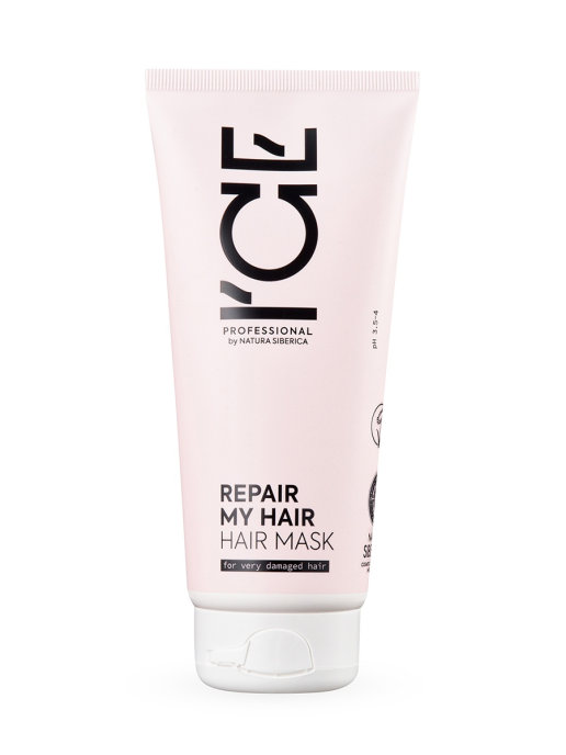Купить Маска ICE PROFESSIONAL by NATURA SIBERICA для сильно повреждённых волос 200 мл, Маска для волос, ICE Professional by NATURA SIBERICA