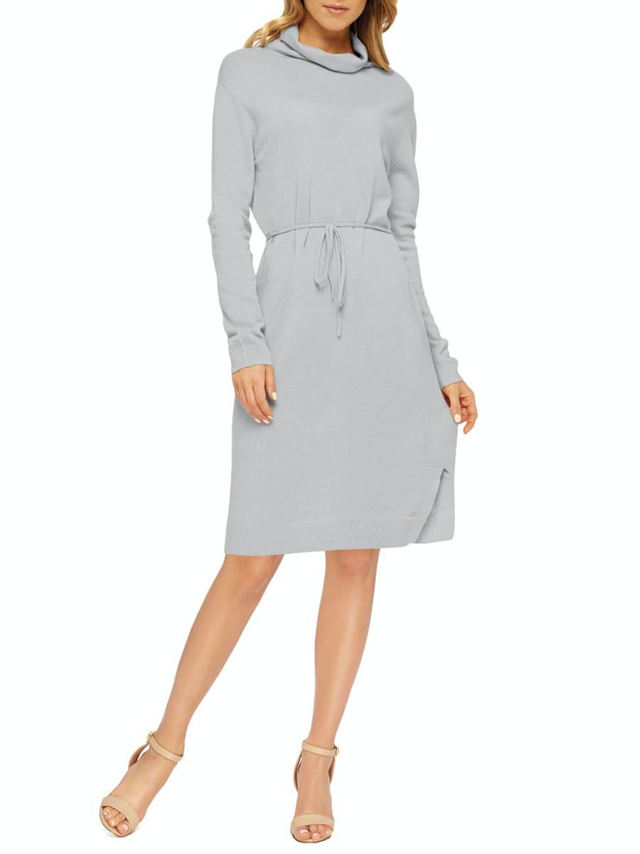 Платье женское MARC & ANDRÉ W20-00CH203 серое 46