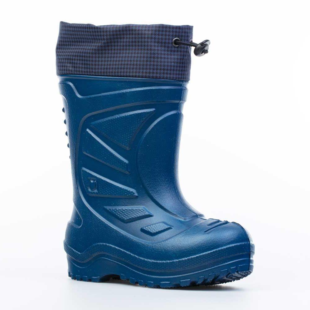 Купить 365141-18, Резиновая обувь для мальчиков Котофей цв.синий р.24,