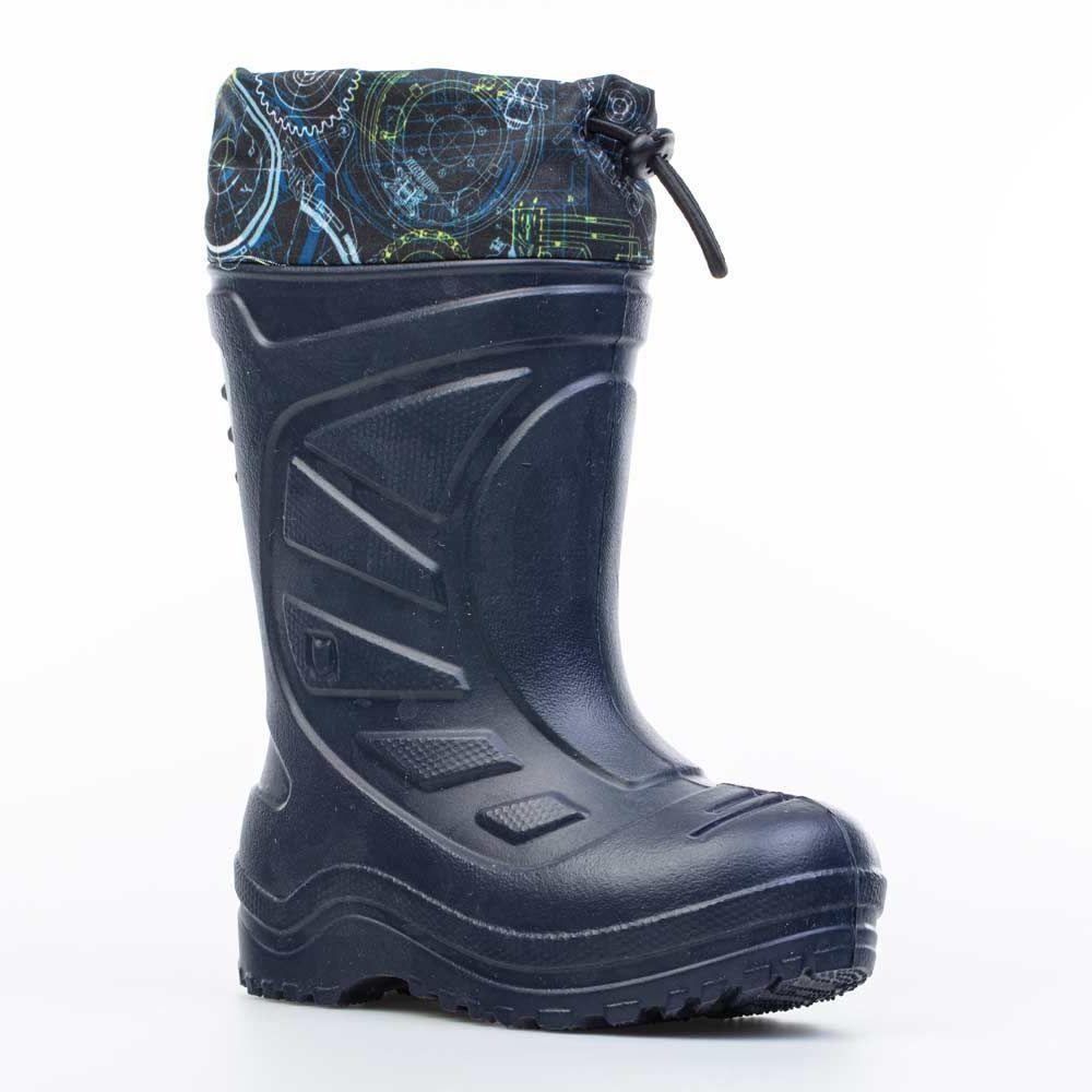 Купить 365141-19, Резиновая обувь для мальчиков Котофей цв.синий р.24,