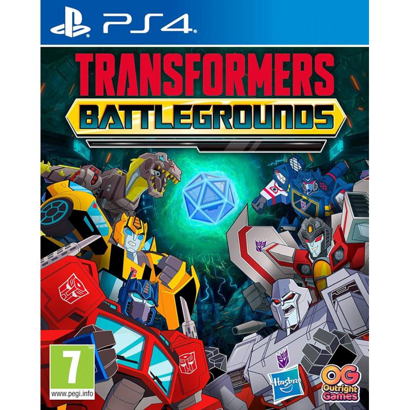 Игра Transformers: Battlegrounds для PlayStation 4