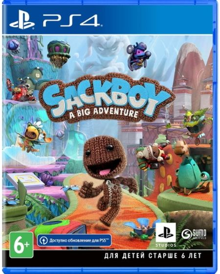 Игра Сэкбой: Большое приключение для PlayStation 4