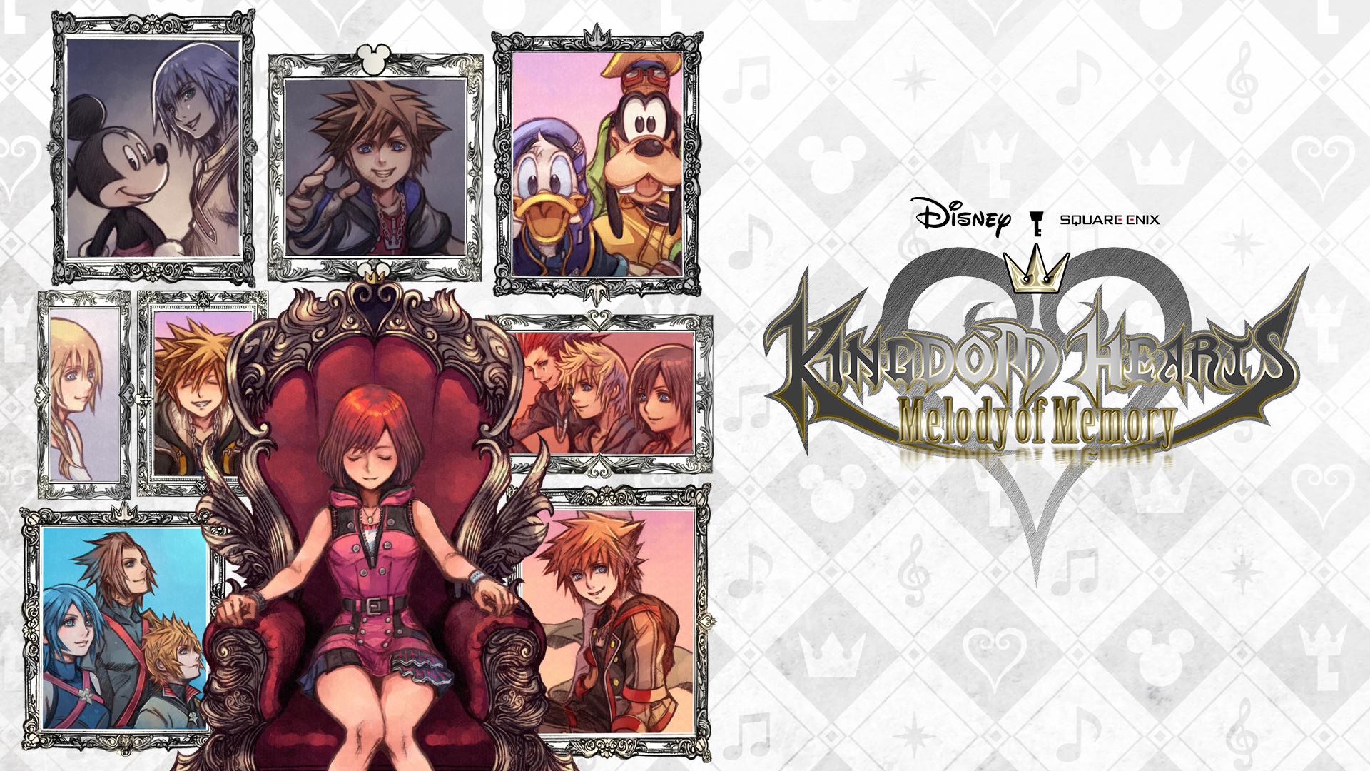Игра Kingdom Hearts. Melody of Memory