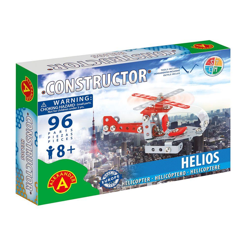 Alexander металлический конструктор Вертолёт Хилиос