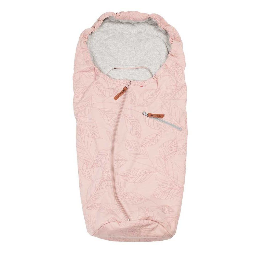 Купить Конверт-муфта в автокресло Easygrow lite leaf car seat dusty pink,