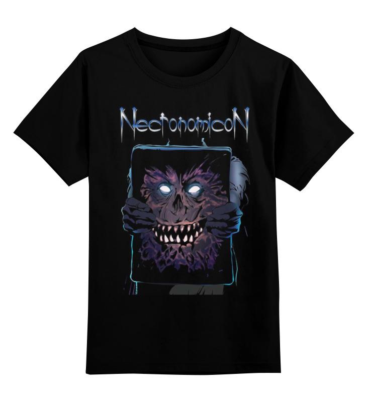 Детская футболка Printio Necronomicon цв.черный р.152 0000000876264 по цене 1 190