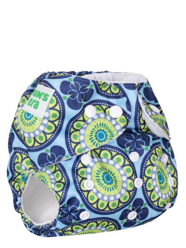 Подгузник детский многоразовый Mum's Era Ориент сине