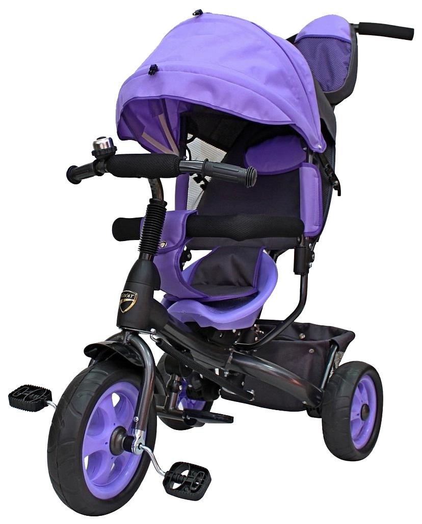 Велосипед детский трехколесный Galaxy Лучик Vivat фиолетовый