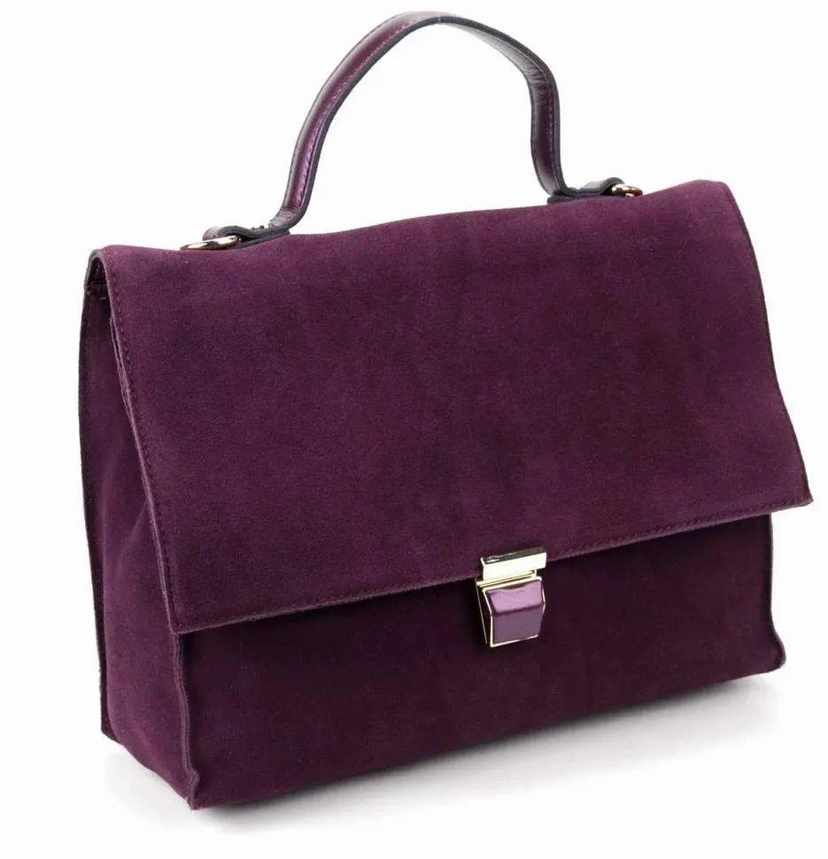 Портфель женский Fuzi house D-01904 фиолетовый